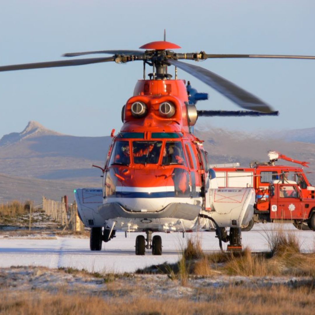 Superpuma Helicopter