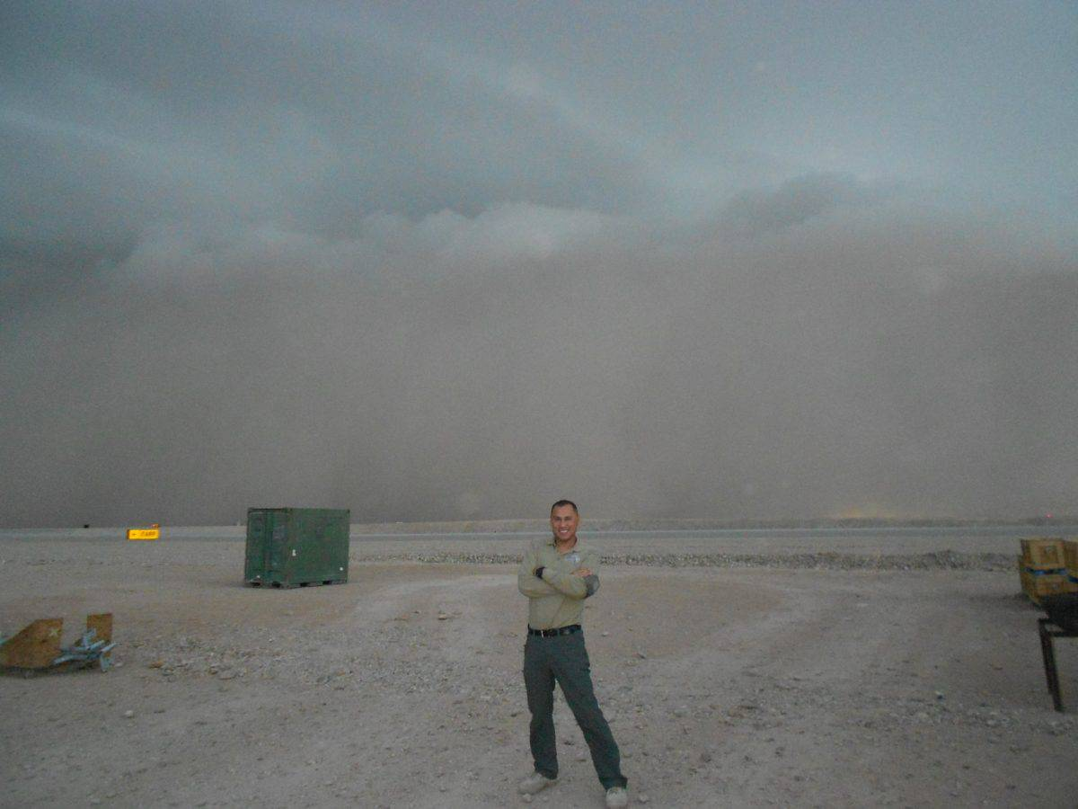 Weather at Camp Bastion