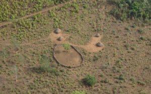 Remote African Village