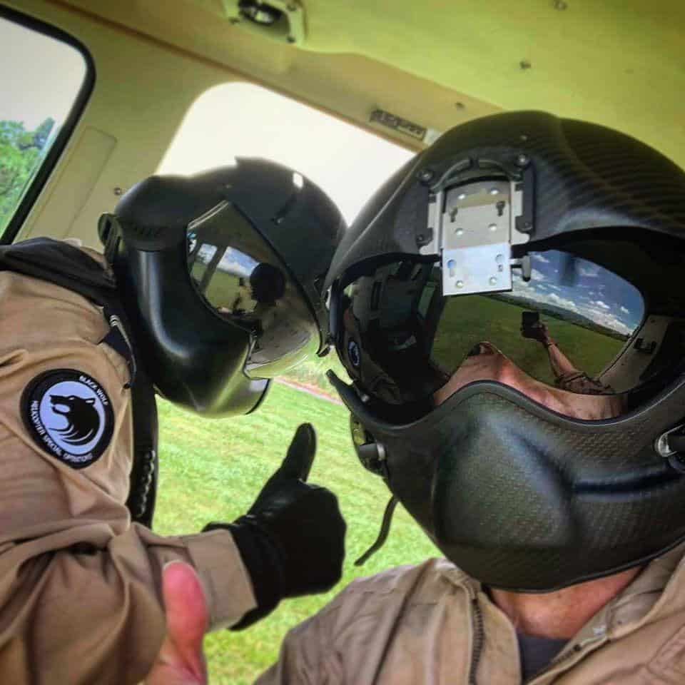 The Rotor Break Blog, A Day In The Life...Chief Aircrewman! In the helicopter before the simulated survival scenario