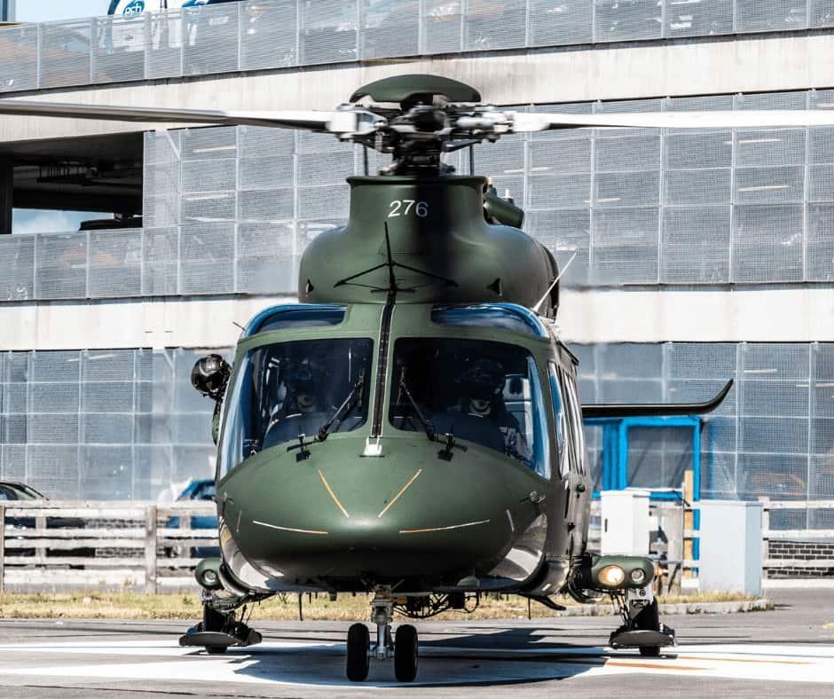 Irish Air Corps AW139 from The Rotor Break Blog