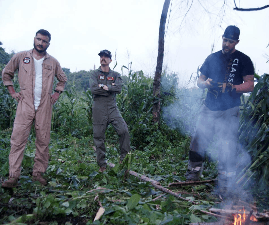 The Rotor Break Blog, A Day In The Life...Chief Aircrewman! Aircrew survival in the jungle training exercise