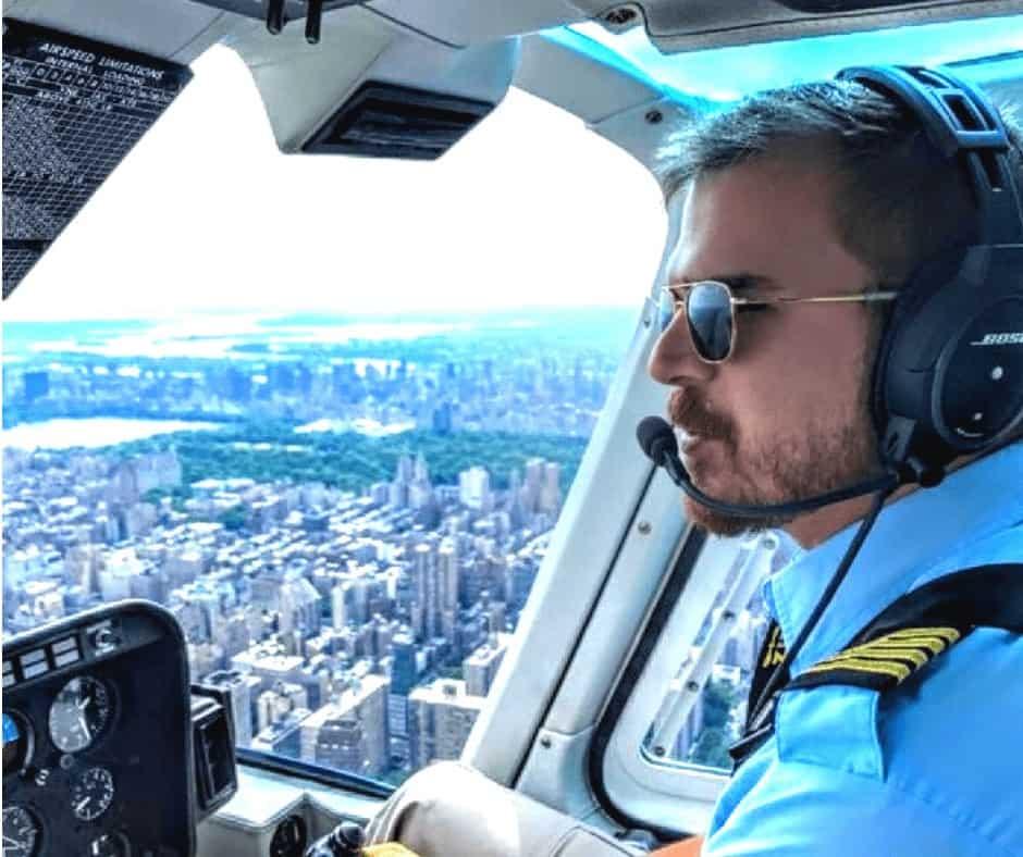 Erik Thresher, Author and Flight Instructor