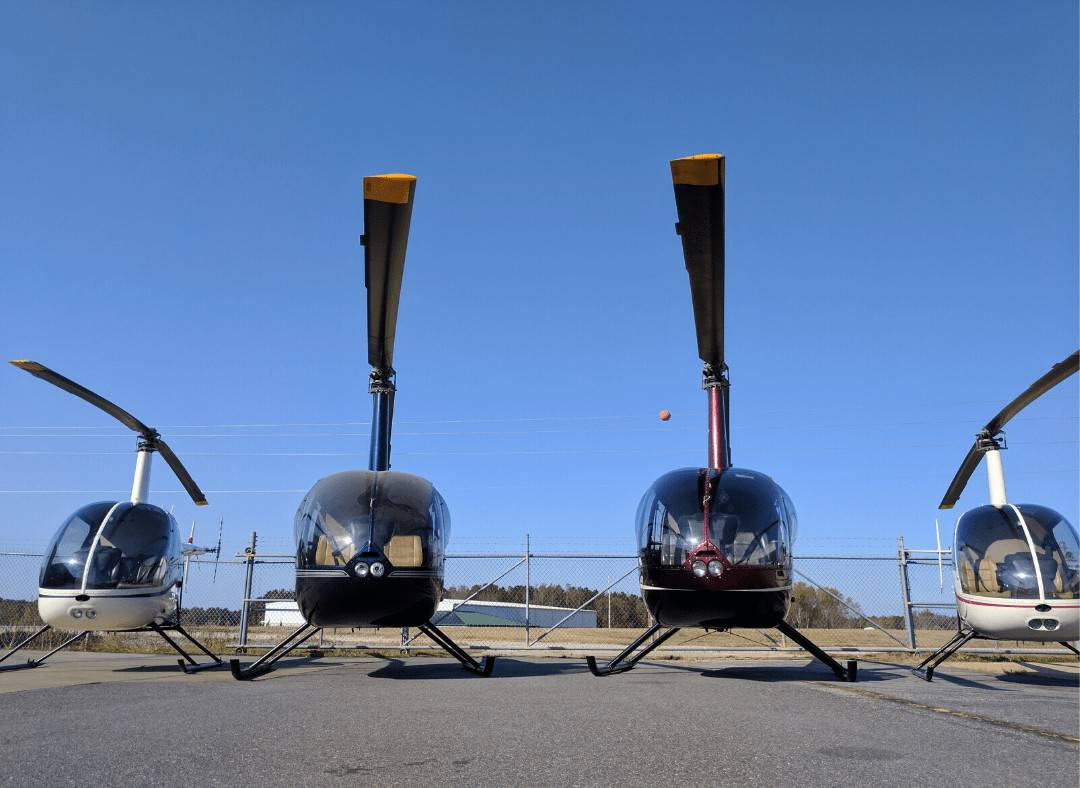 Robinson R22 and R44 Training Helicopters