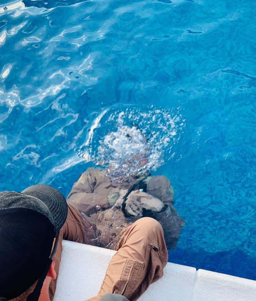 The Rotor Break Blog, A Day In The Life...Chief Aircrewman! Underwater Survival training in a Pool