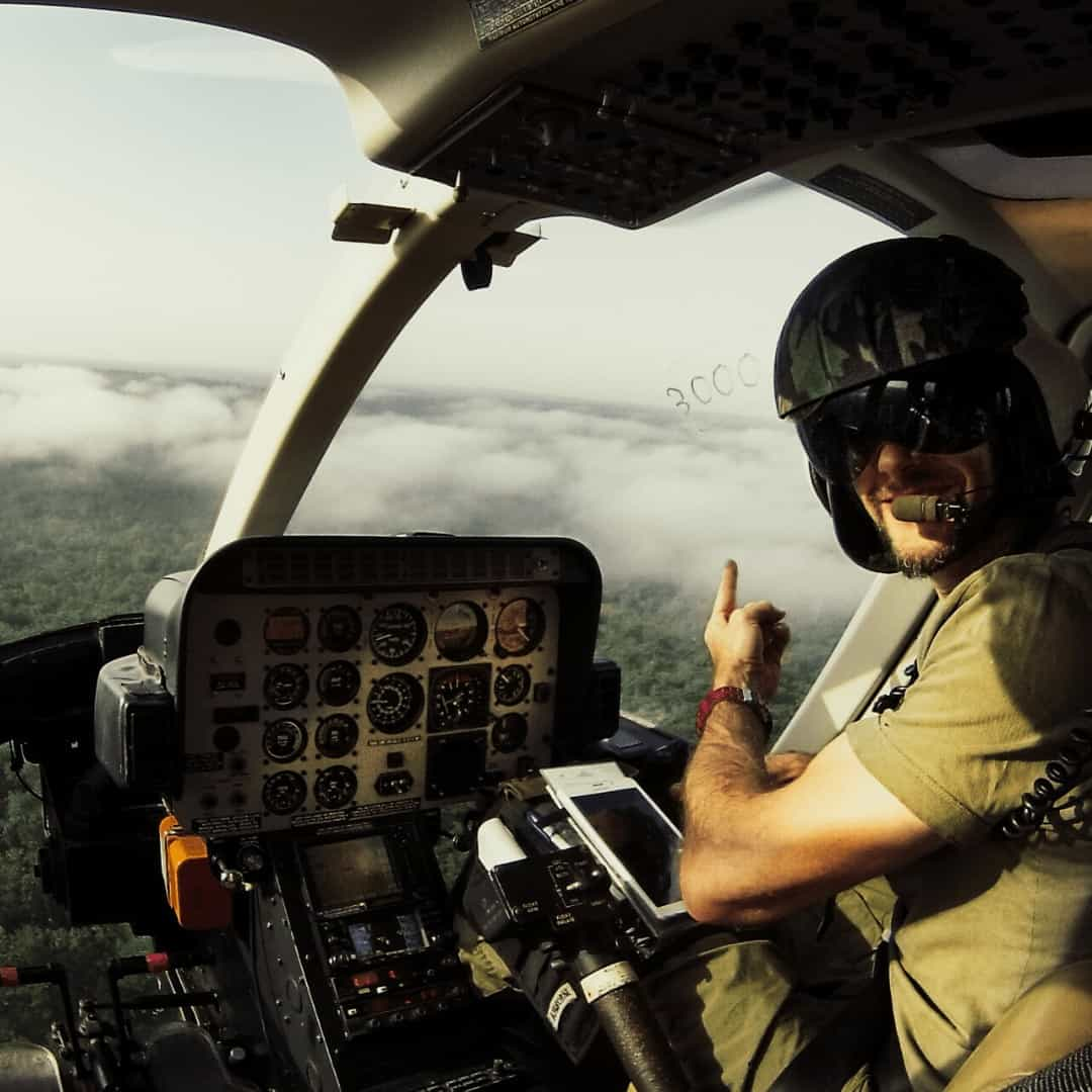The Rotor Break Blog, A Day In The Life Of An Anti-Poaching Helicopter Pilot