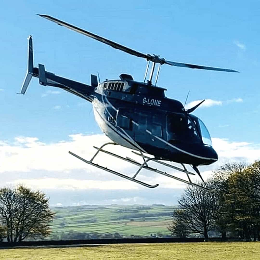 Bell 206 Sightseeing aircraft