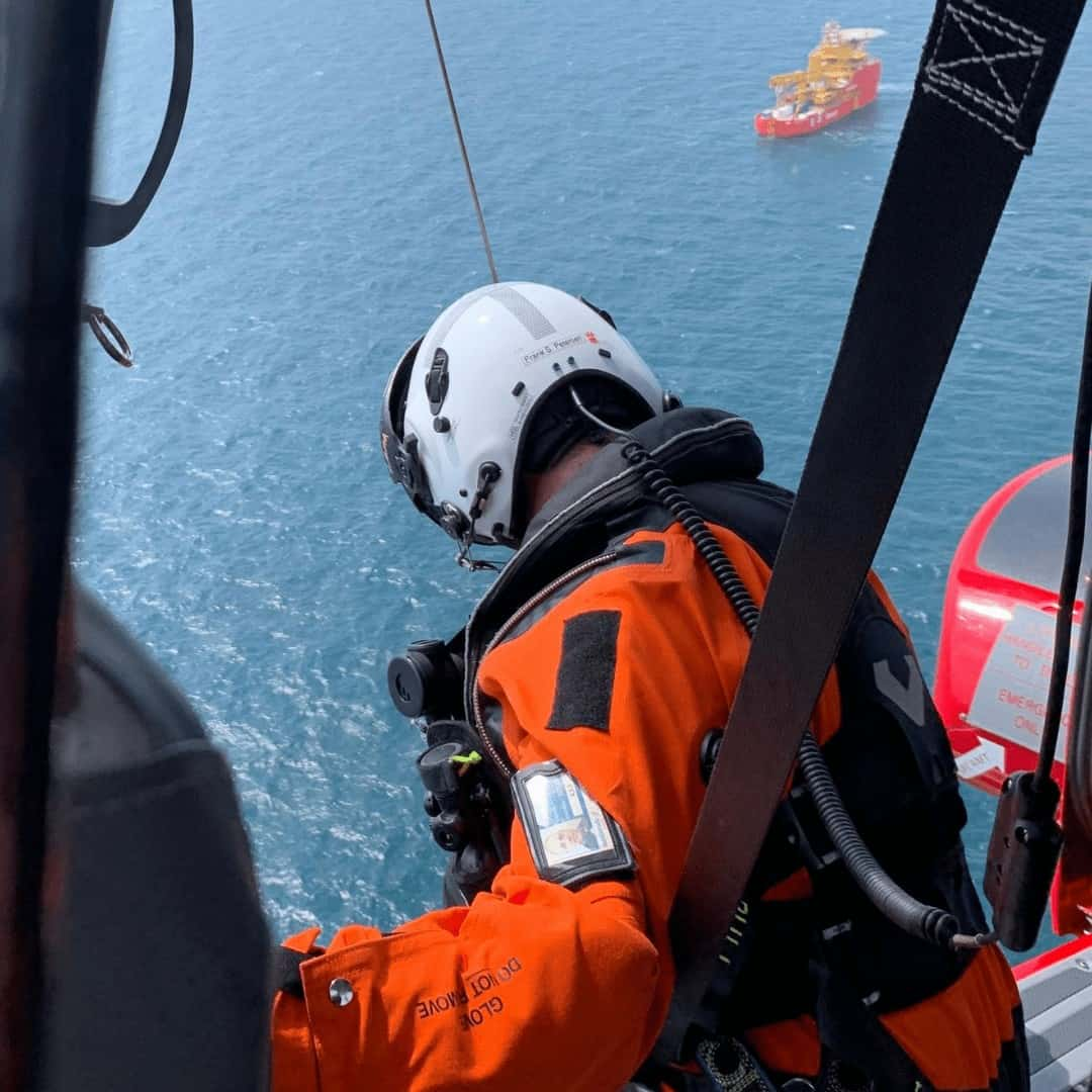 The Rotor Break Blog presents, A Day In The Life...Offshore Windfarm  Hoist Operations!
