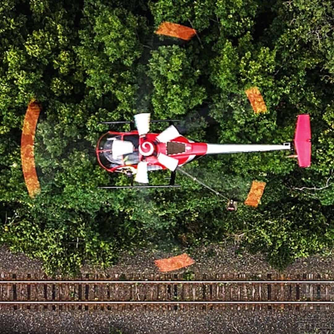 A Day In the Life of an Aerial Saw Pilot